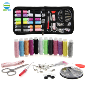 Mini Travel Sewing Kit Sewing Notion for Home Travel Emergencies Filled with Good Quality Scissor Thread
