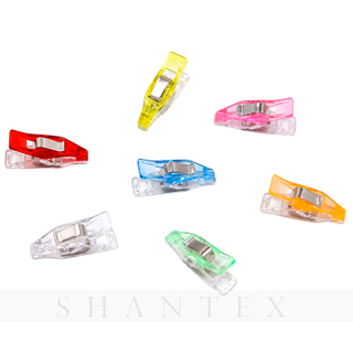 Assorted Colors Plastic Clips For Patchwork Sewing DIY Crafts
