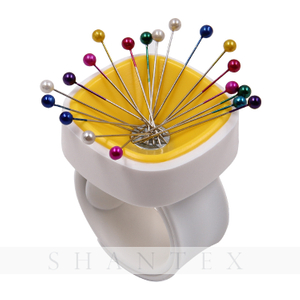 Sewing Magnetic Pin Cushion Needle Box Wrist Pinnny Magnetic Catcher DIY Wrist Portable Sewing Tool