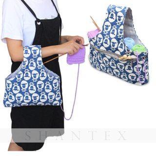 Knitting Tote Bag Yarn Storage Organizer Bag for Small Projects