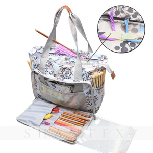 New Fashion Custom Home Shop Big Handmade Knitting Knit Storage Yarn Crochet Bag Tote Bag