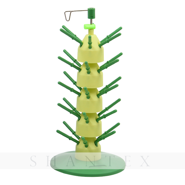 Stack'n Stitch Thread Tower Organize Up To 30 Spools Thread Spool Stand