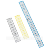 Rectangular Design Ruler Florescent Color Perspex Template Neon Yellow Acrylic Quilt Ruler